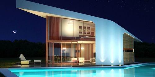 Espectaculares casas prefabricadas de dise o desde for Disenos de porches de casas