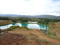 POZOS AZULES - VILLADELEYVA BOYACÁ COLOMBIA ..............Hermosos espejos de aguas naturales. www.caragro.com/imagen25.htm