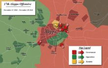 Aleppo offensive (November–December 2016) - Wikipedia