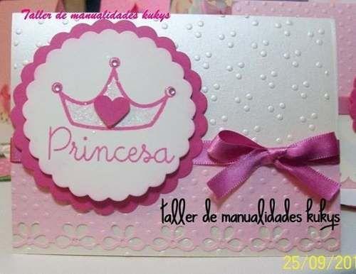Invitaciónes princesa sofia hechas a mano - Imagui