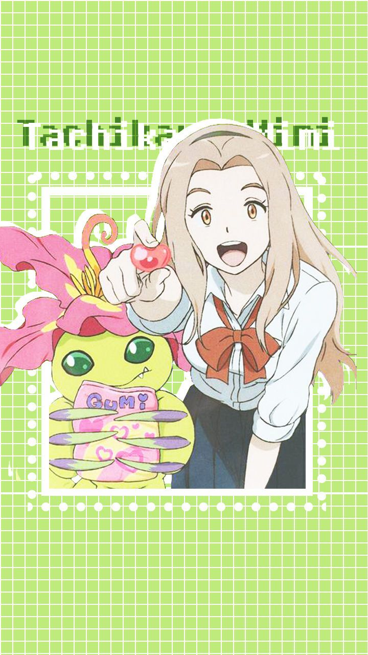 Digimon adventure tri Mimi and palmon @bluecttncndy (pinterest) @bluecottoncandy (tumblr) @dgmndvntrtr (instagram)