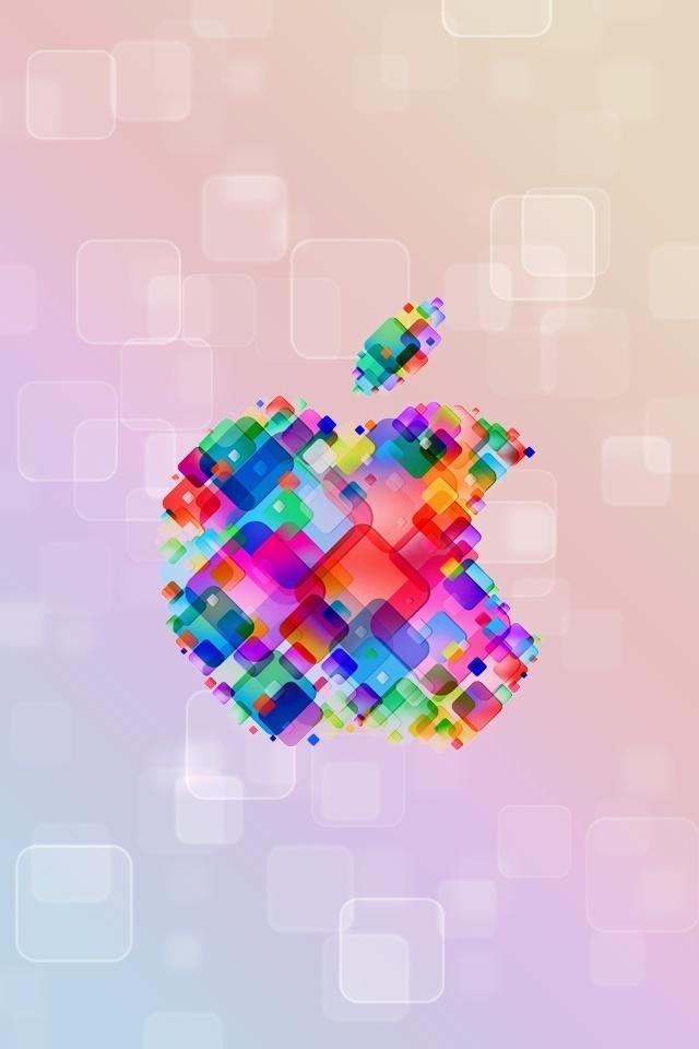 colorful apple logos. Apple Logo - Colors Colorful Logos