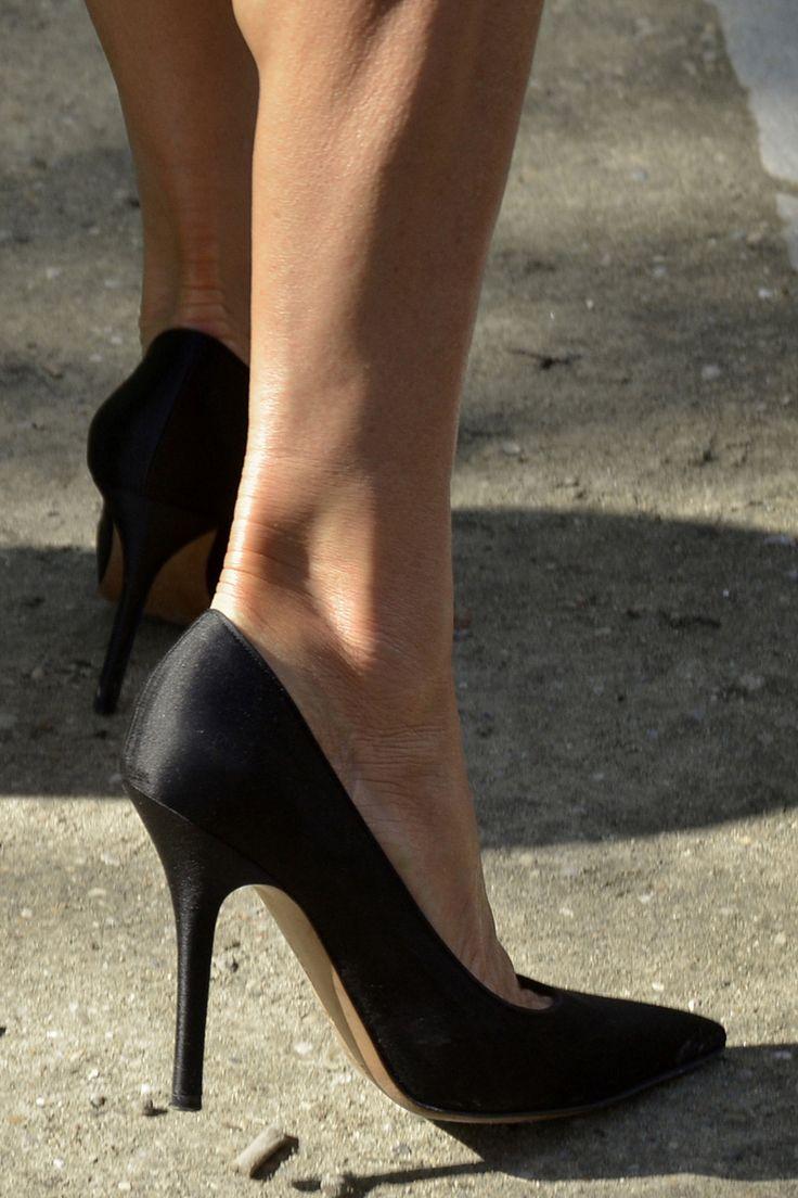 tendencias para invitadas de invierno II: zapatos de salón negros
