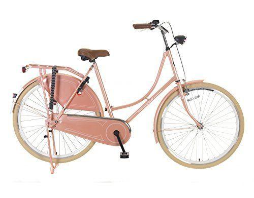28 Zoll Damen Fahrrad Hollandrad Lachs Rh:57cm