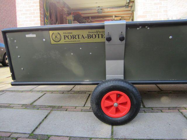 Nieuwe Dolly Met Meer Bodem Vrijheid Porta Bote