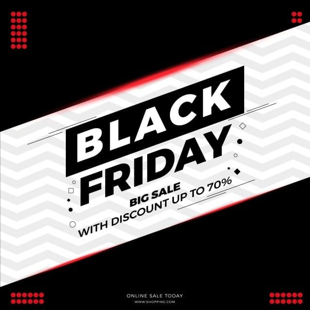 Black Friday Modern Banner Big Sale With Discount Up To 70 With Background Pattern Black Friday Black Friday Png And Vector With Transparent Background For F In 2020 Background Patterns Black