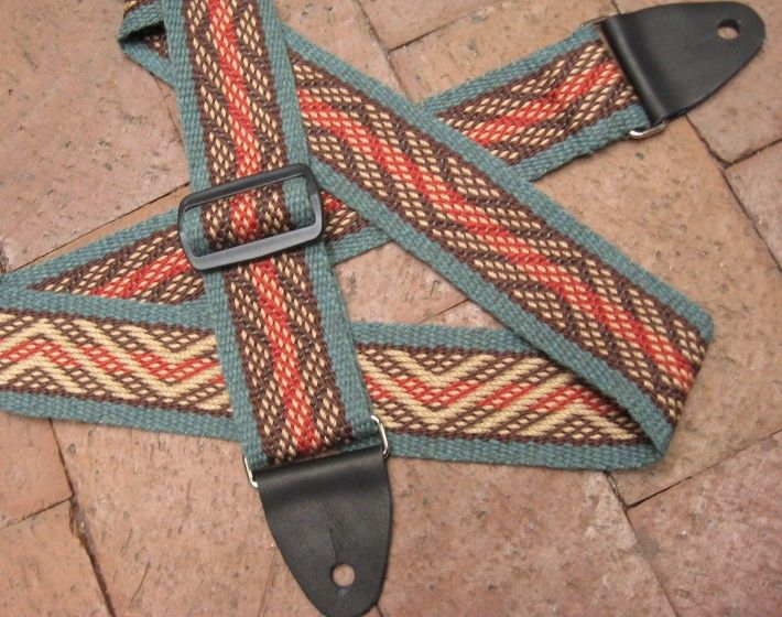 Zig Zag | Weaver Guitar Straps - Play With Color!