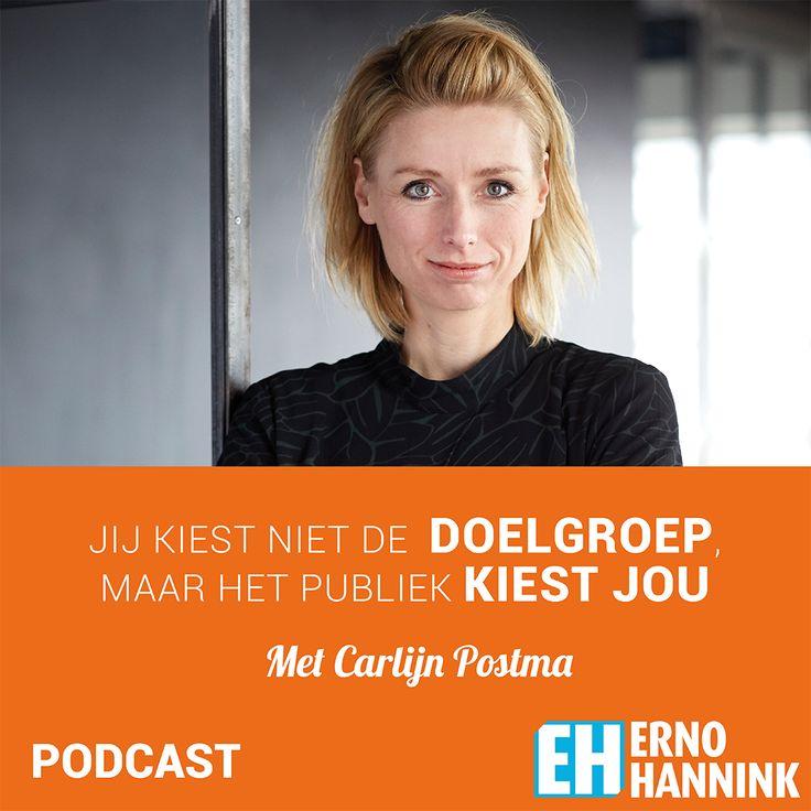 Een podcast gesprek met Carlijn Postma over hoe je je doelgroep kunt vinden, binden en actie laten ondernemen. Beluister de Erno Hannink Show-podcast!