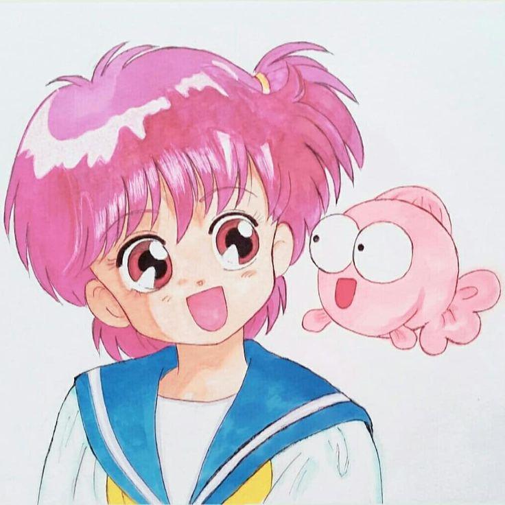 eri さんはinstagramを利用しています ピンクバトンリレー むのんさん yuine munon よりバトンキャッチしました ピンクなイラストとピンクなものたち まずはピンクなイラスト f ゚ー゚ と言えば 小学生の時にハマってた きんぎょ