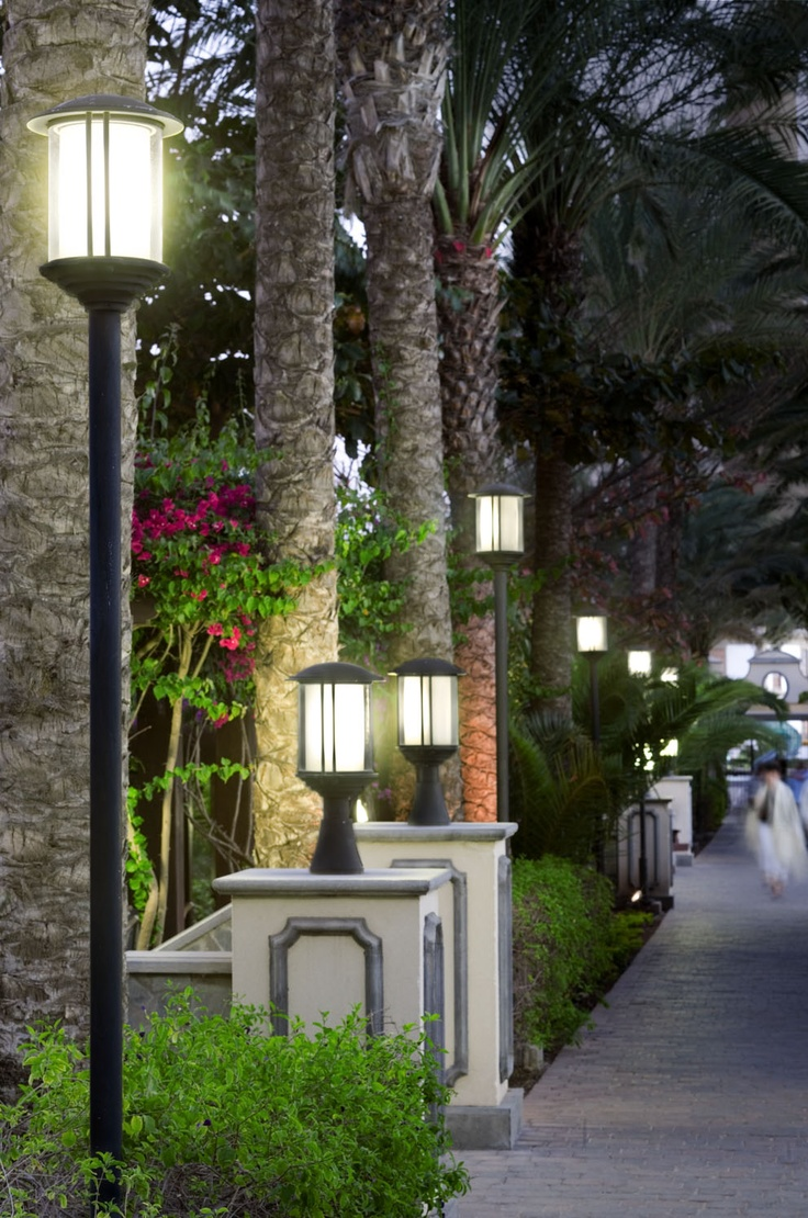 Fita #outdoor #lamp by B.lux in Hotel Costa Meloneras. #lighting #project