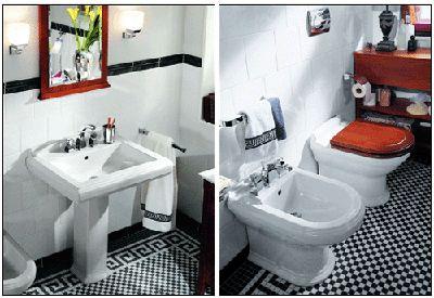 retro-bathrooms-designs-black-white-floor-tiles