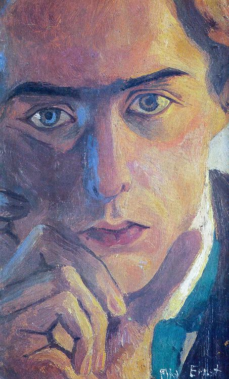 Max Ernst, Self-portrait, 1909    ring the bells that still can ring   forget your perfect offering   there is a crack in everything   that's how the light gets in     ~leonard cohen
