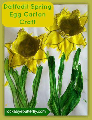 Daffodil Egg Carton Craft