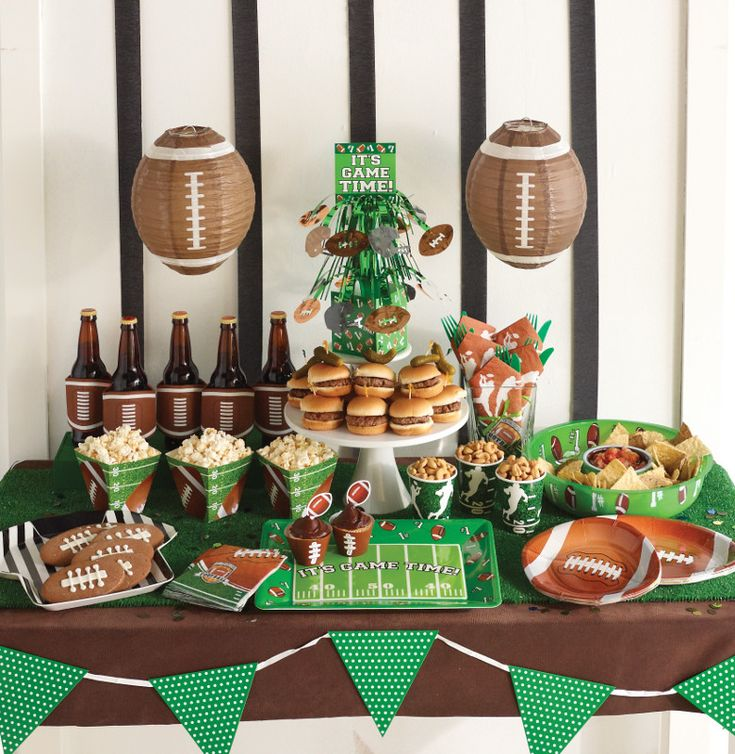 34df76aec650 sport-wallpaper-4u  Green and brown theme. Football Party Supplies