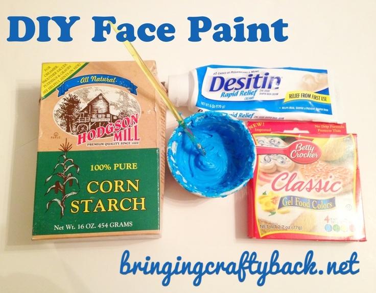 DIY Face Paint