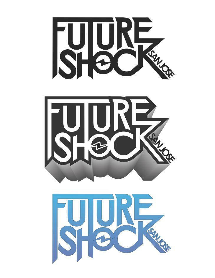 Logo concept for hip-hop dance team, Future Shock San Jose.