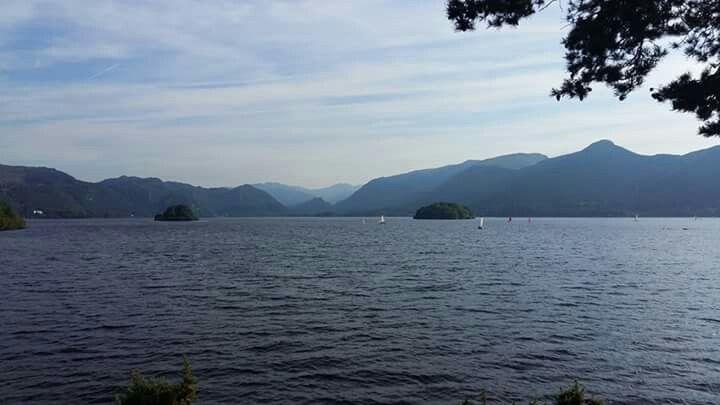 Lake district Keswick #travel #Lake #mountains