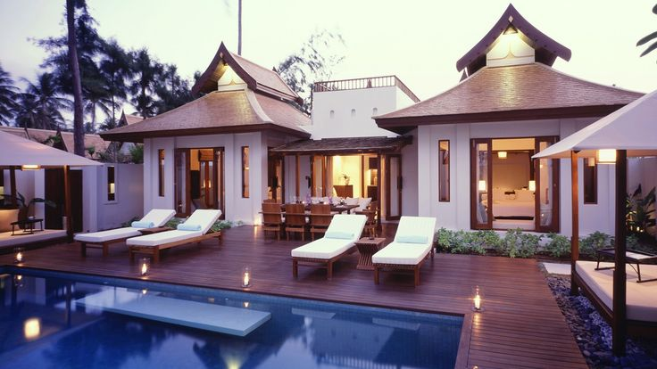 Pool at SALA Samui Resort and Spa in Suratthani, Thailand