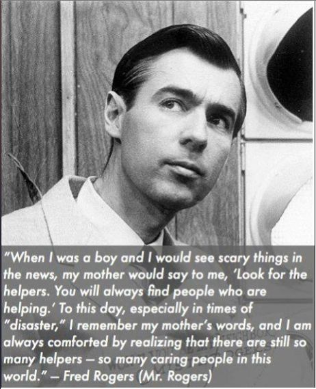 Mr Rogers Quote Look for the Helpers