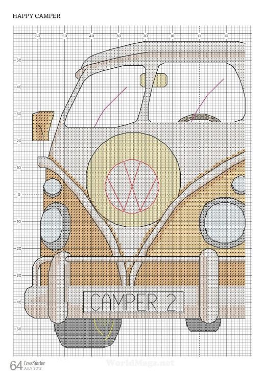 Kombi Origem: Cross Stitching (Daniele Polidoro)