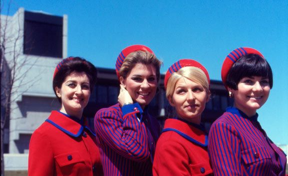Expo 67 hostesses, Montreal, 1967