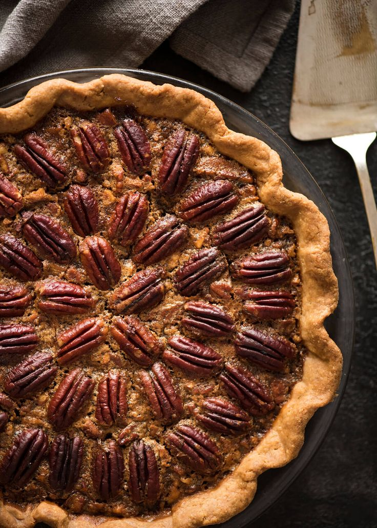 Learn how to make Pecan Pie, the great American classic! Flaky all-butter pie crust with a soft set filling, the quick video tutorial will be very helpful will guide you to nail this every time! www.recipetineats.com
