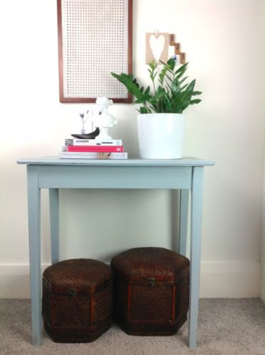 Vintage-Timber-Country-Hall-or-Side-Table-Restored-Distressed