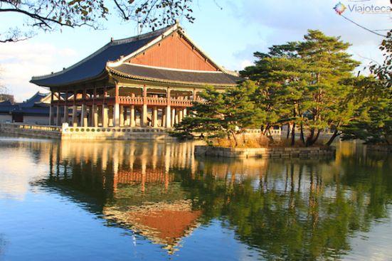 The Gyeonghoeru Pavilion- Gyeongbokgung Palace