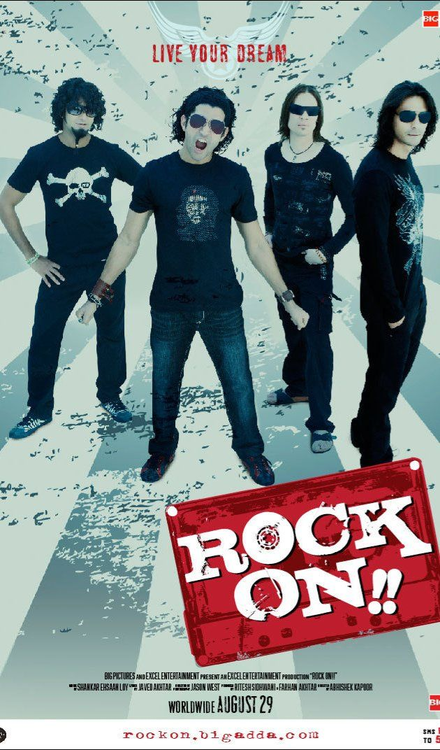 Directed by Abhishek Kapoor.  With Arjun Rampal, Farhan Akhtar, Luke Kenny, Purab Kohli. Four friends reunite to relive their moments of glory as a rock band.