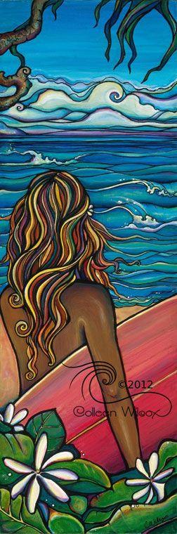 Colleen Malia Wilcox | COTW Surf Artist
