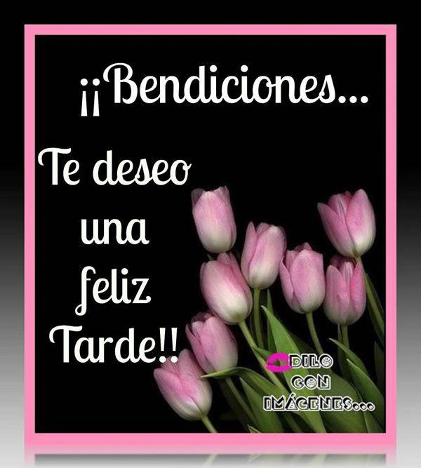 Imágenes con Frases para dar las Buenas Tardes, Feliz Tarde, Linda Tarde - ※ Dias de la Semana ※