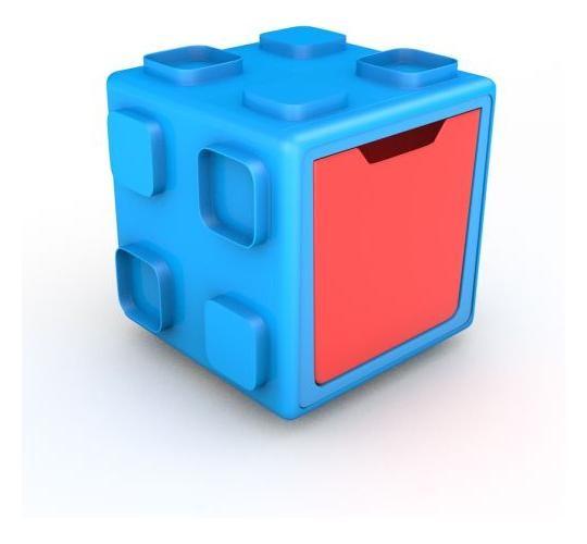 Chillafish Παιχνιδόκουτο-Κύβος Αποθήκευσης