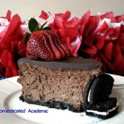 Triple Chocolate Cheesecake by DomesticatedAcademic