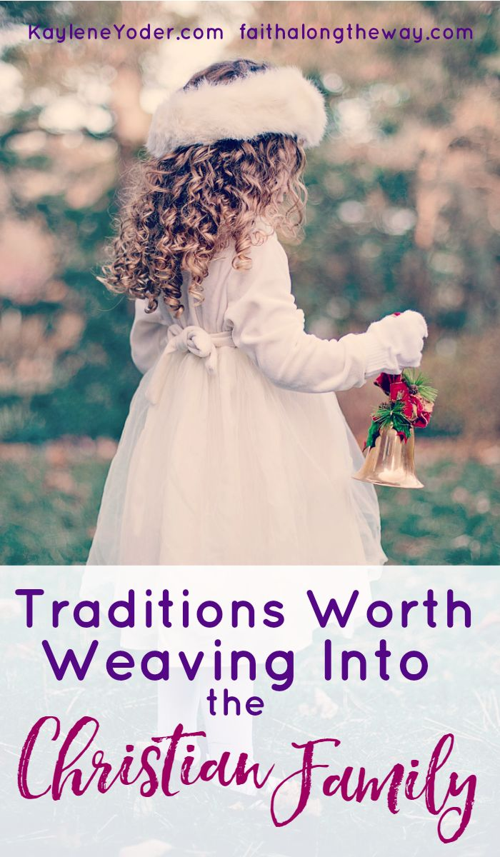These traditions will become the cornerstone of your family. Don't miss the chance to lay a solid foundation of faith and family with these simple traditions.