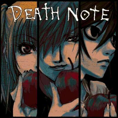 grafika anime, boy, and death note