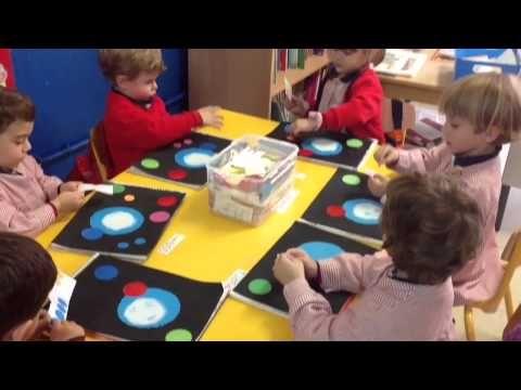 Crear un Cuadro al Estilo de Kandinsky - Para Niños de Infantil - YouTube