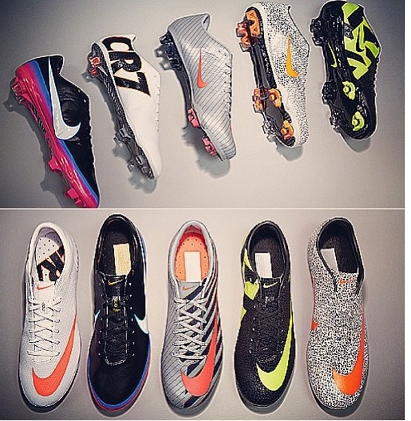 all cr7 cleats