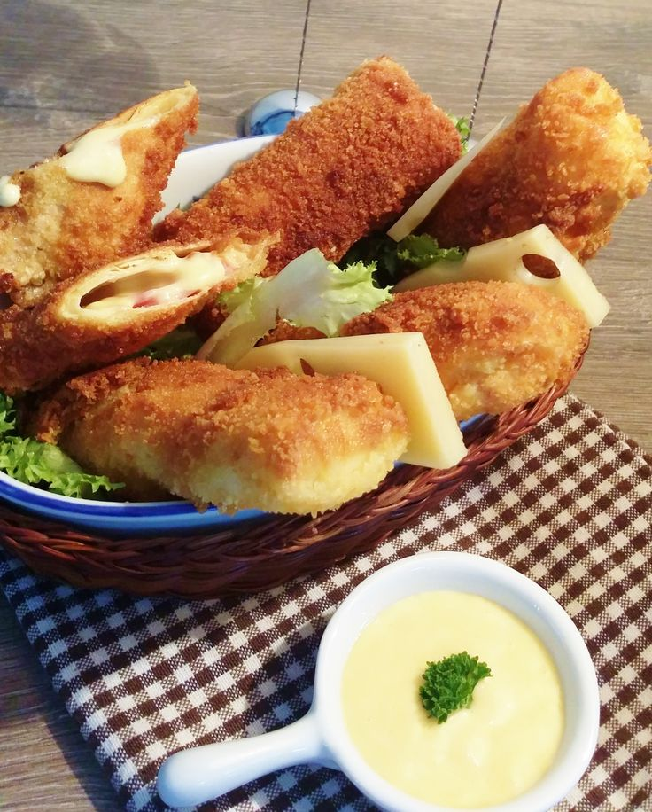 Risoles jambon fromage
