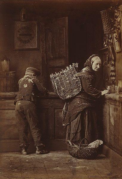 Adam DISTON, (Woman and boy in shop, 1888)