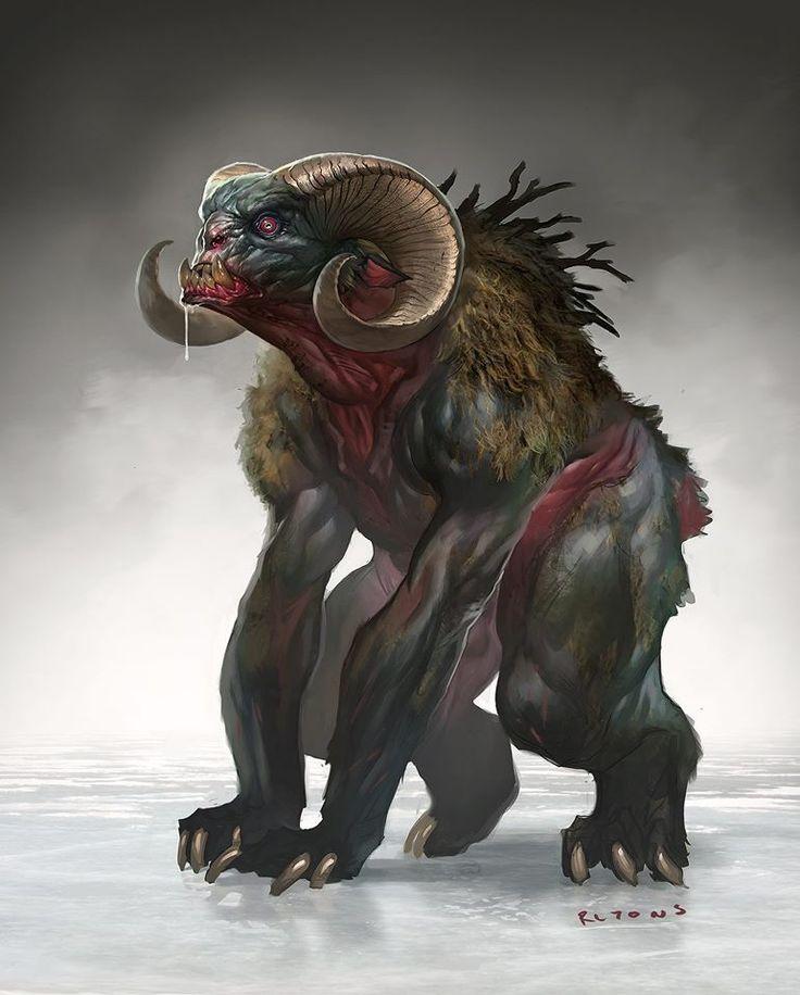 RLyonsArt: creature designs