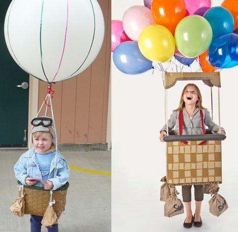 Disfraces caseros, faciles y divertidos para niños