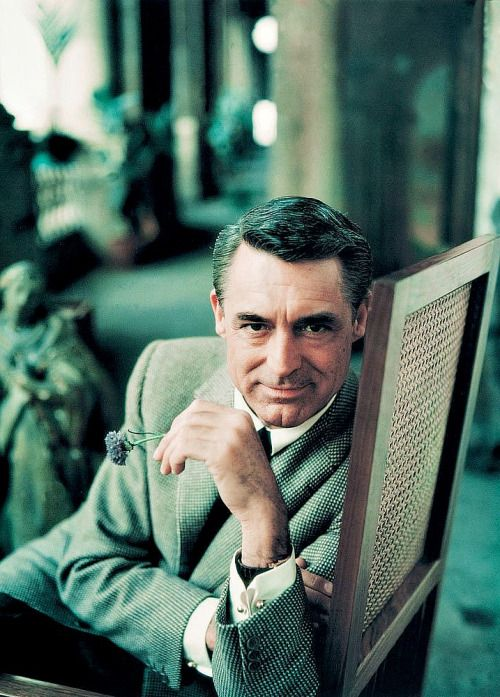 Cary Grant photographed by Milton Greene, 1958.  For the ladies...