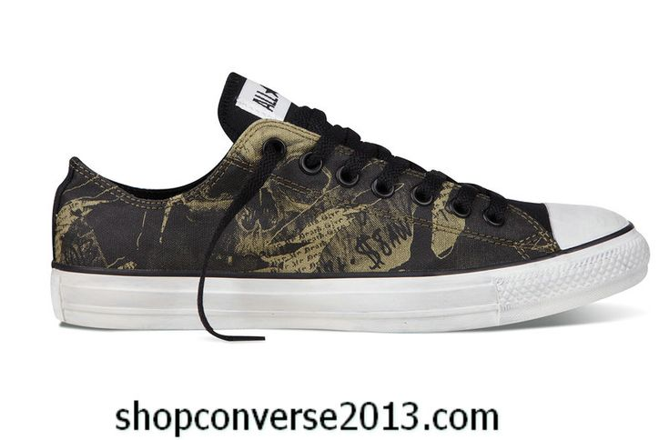 2786d2aacf00 Cheap Shop Chuck Taylor All Star Low 2013 Black Green for Sale Online
