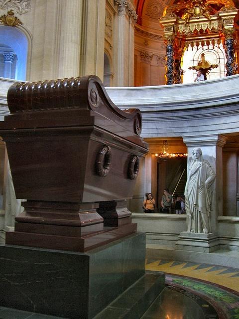 Paris - at Napolean's Tomb