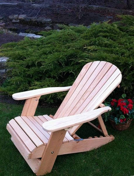 4 Position Adjustable Reclining Adirondack Chair In 2019