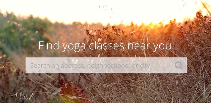The Yoke is the easiest way to find affordable yoga near you.