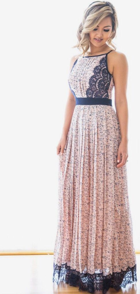 Long summer dresses: fashion and comfort together