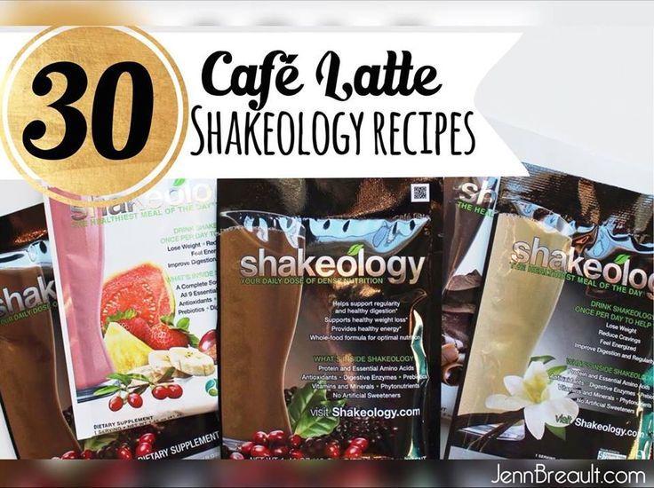 30 Divine Café Latte Shakeology Recipes, Shakeology, Shakeology recipes, JennBreault.com