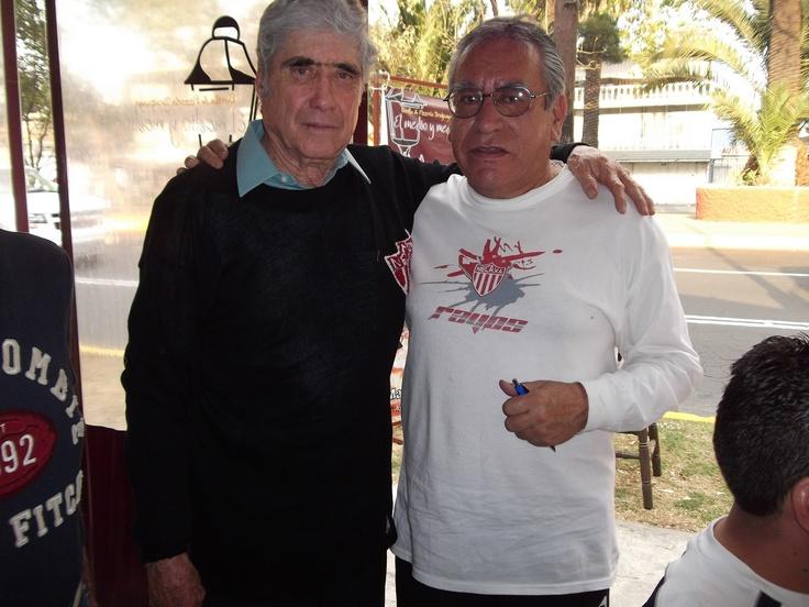 El arquerazo Don Jorge Morelos y Nachito Cervantes.