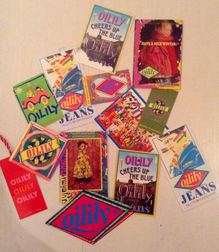 Vintage Oilily tags